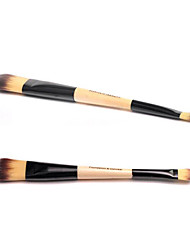 Double Head Foundation Brush Double Head Make-up Making Tool Single Brush For Beautifying Beauty