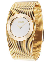 Women's Graceful Gold Steel Band Strap Watch Quartz Wrist Watch Cool Watches Unique Watches