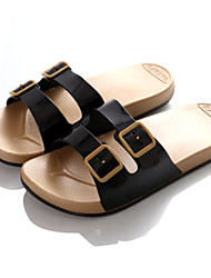 Men's Slippers & Flip-Flops Summer Slingback Rubber Casual Flat Heel