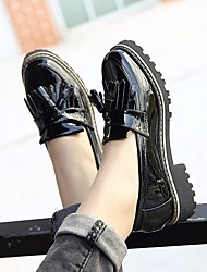 Women's Boots Summer T-Strap Rubber Casual Black