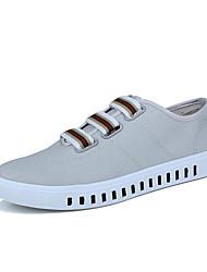 Masculinos sneakers primavera queda conforto pu casuais cinza preto branco