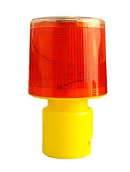 LED Solar Traffic Warning Lighthouse Lights Road Bar Lights Flashing Lights Red Casing