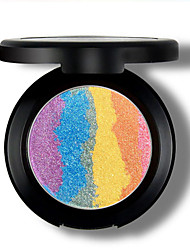 Blush Pó Gloss Colorido Humidade Longa Duração Natural Prova-de-Água Respirável Cara