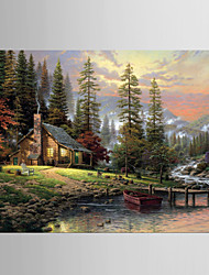 Giclee Print Famous Modern Pastoral,One Panel Canvas Horizontal Print Wall Decor For Home Decoration