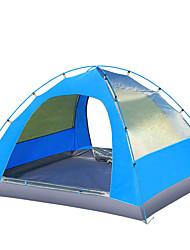 3-4 человека Световой тент Двойная Палатка Складной тент Влагонепроницаемый Водонепроницаемость С защитой от ветра Дожденепроницаемый