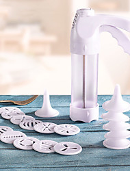 Mold For Chocolate Plastic Multi-function Cookies Biscuit Gun Decorating Biscuit Mould