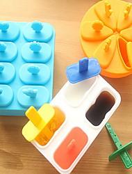 8 Grid DIY Plastic Ice Lattice Ice Mould Popsicles Model