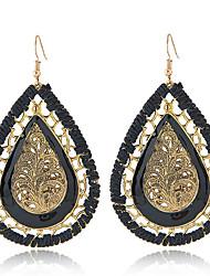 Drop Earrings Euramerican Bohemian Alloy Teardrop Jewelry For Daily Casual 1 Pair