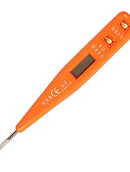 Tester de tensão digital sheffield® s034012 12-220v ac / dc 150mm