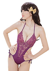 Women's Sexy Lace Soft Yarn Flirting Temptation Lingerie Suits