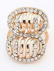Euramerican Fashion Exaggerated Levon Han Rings Rhinestones Elegant More Occasions  Women's  Rings Movie Jewelry