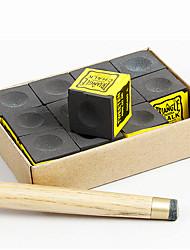 Cue Chalk Mesas e Acessórios Piscina Ferro Forjado Purpurina