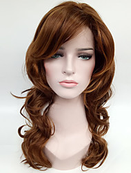 Natural Blonde Brown Synthetic Wigs for Women Costume  Women Wig