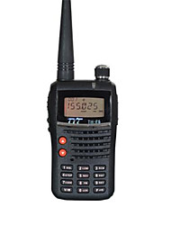 Walkie talkie tyt th-f5 émetteur-récepteur radio bidirectionnel 5w 1500mah batterie tyt th f5 mètre radio radio amateur portable uhf