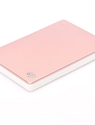 Seagate  Rose Gold STDR2000309 2.5 Inch 2TB USB3.0 Portable Mobile Hard Disk