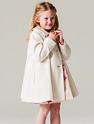 Girls' Fashion Solid Jacket & Coat Winter Spring Fall Long Sleeve Baby Kids Windbreaker Loose coat