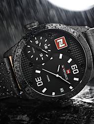NAVIFORCE Pánské Sportovní hodinky Vojenské hodinky Módní hodinky Náramkové hodinky Unikátní Creative hodinky Hodinky na běžné nošení
