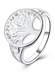 Women's Ring JewelryBasic Circular Unique Design Tattoo Style Flower Style Natural Geometric Friendship Turkish Gothic Double Pearls
