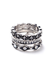 Women's Ring Fashion Euramerican Alloy Jewelry For Wedding Party Anniversary