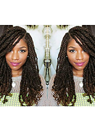 1# senegalese crochet braids with curly end kanekalon twist hair extension synthetic braiding hair