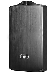 Fiio a3 amplificateur de casque portable alliage d'aluminium 20hz-20khz amp micro usb interface-noir