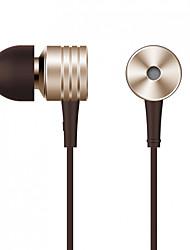 Écouteur intra-auriculaire classique xiaomi piston si un design primé compatible avec Apple Android