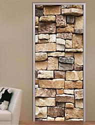 Отдых Наклейки 3D наклейки Декоративные наклейки на стены,Винил материал Украшение дома Наклейка на стену