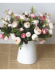 1  Bunch Five-pronged spring tea small and fresh artificial flowers