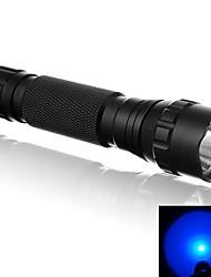 Lampes Torches LED LED 500 Lumens 1 Mode LED 18650 16340 CR123A Lumière Surface antidérapante Ultra légerCamping/Randonnée/Spéléologie