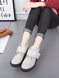 Women's Sneakers Comfort PU Spring Casual Comfort Gray White 2in-2 3/4in