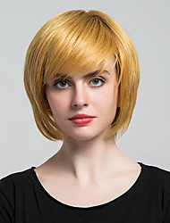 New Style  Hair Natural Straight Capless Human Hair Wigs For Human