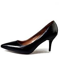 Damen High Heels Komfort Mokassin D'Orsay und Zweiteiler Club-Schuhe Kunstleder Sommer Herbst Büro Kleid Lässig Party & Festivität