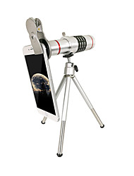 Mobile telescope 18x with 37MM clip silver
