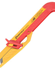 Sheffield S150010 Insulated Cable Cutter Stripping Knife VDE Cable Peeling Knife / 1
