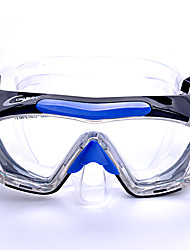 Máscaras de mergulho Protecção Mergulho e Snorkeling Materiais Mistos Fibra sintética