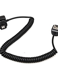 Meike mk-fa02 3m 10ft 118 pouces ttl hors caméra mi multi interface hot shoe flash sync cable cordon pour sony speedlite sony hvlf20m