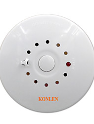 Fire Smoke Detector and Heat Temperature Sensor Alarm 2 in 1 Combination Detector Wired 12V for House Safety