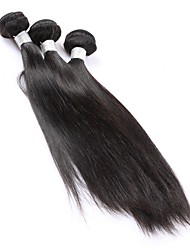 Burmese Straight Hair 3 Bundle CARA Hair Products 100% Human Hair Bundles Natural Color Silky Remy Hair Weave 8A 10-30Inch