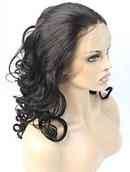 Illusion chevelure cheveux humains perruque avant en dentelle super onde