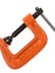 Escudo de aço 1 g grampo g clip peça de aperto efetiva apropriada para operações de processamento de metal na madeira