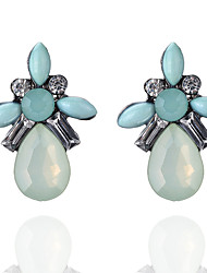Women's Stud Earrings Acrylic Geometric Alloy Jewelry For Party Daily Casual Stage Party/Cocktail