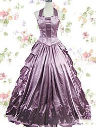 One-Piece/Dress Gothic Lolita Lolita Cosplay Lolita Dress Vintage Cap Floor-length Dress For Other