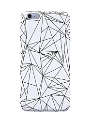 For iPhone 7 Plus 7 Case Cover Pattern Back Cover Case Geometric Pattern Tile Lines / Waves Soft TPU for iPhone 6s Plus 6s 6 5s SE 5