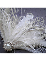 Hand Made Wedding Feather Hair Fascinator Headpieces Fascinators Headbands Hair Accessories Feather Wigs Accessories For Women 060