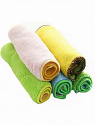 High Quality Fine Fiber Double Suction Kitchen Bathroom Cleaning Cloth(2Pcs/Lot)