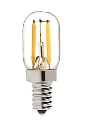 2W LED žárovky s vláknem T 2 COB 200 lm Teplá bílá Ozdobné V 1 osoba