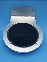 0.5w cool branco sensor de corpo humano exterior luz de parede luz solar 1pcs