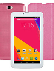 723A 7'' Android 4.4 3G Phablet dual Core Dual SIM Cam GPS Tablet PC Pink(1024*600 512MB 8GB)