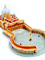 Jigsaw Puzzles 3D Puzzles Building Blocks DIY Toys Architecture Paper Model & Building Toy