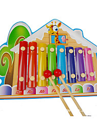 Building Blocks Music Toys For Gift  Building Blocks House Wood 2 to 4 Years 5 to 7 Years Toys
